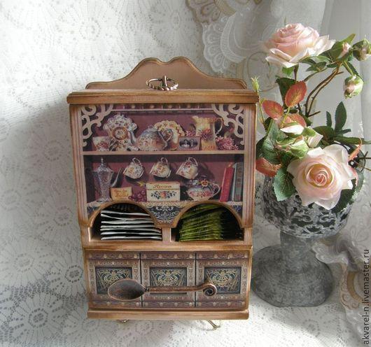 """Кухня ручной работы. Ярмарка Мастеров - ручная работа. Купить Чайный домик  """"Розовый чай"""". Handmade. Чайный домик"""