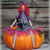 Куклы и игрушки ручной работы. Ярмарка Мастеров - ручная работа тильда ведьмочка Элоиза. Handmade.