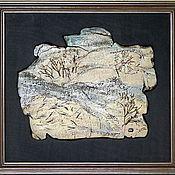 Картины и панно ручной работы. Ярмарка Мастеров - ручная работа Зимнее утро на Сороти. Handmade.