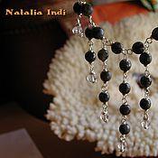"""Украшения handmade. Livemaster - original item Labrador necklace in Wire Wrap technique """"For Party"""". Handmade."""