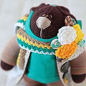 Куклы и игрушки ручной работы. Ярмарка Мастеров - ручная работа Зайцы. Смуглый заяц. Handmade.