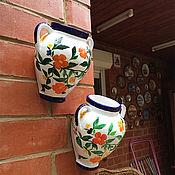 Цветы и флористика handmade. Livemaster - original item Flower pot