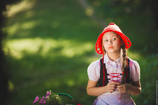 Шапки ручной работы. Ярмарка Мастеров - ручная работа. Купить Красная Шапочка. Handmade. Ярко-красный, стилизация