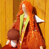 """Куклы и игрушки ручной работы. Ярмарка Мастеров - ручная работа Текстильная кукла """"Осенний ангел"""". Handmade."""