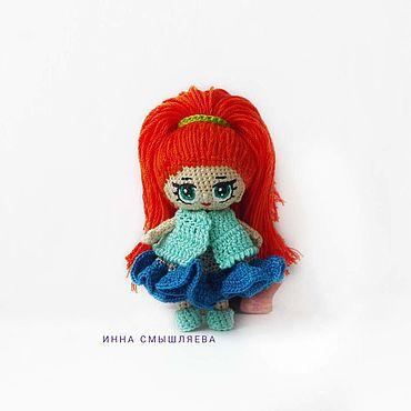Куклы и игрушки ручной работы. Ярмарка Мастеров - ручная работа МК миниатюрная куколка в стиле Лол. Handmade.
