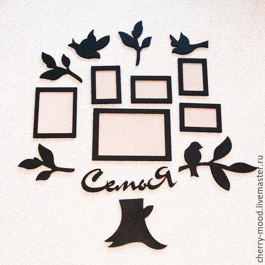 Интерьерные слова ручной работы. Ярмарка Мастеров - ручная работа. Купить Семейное дерево. Handmade. Разноцветный, слова для свадьбы