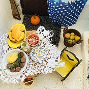 Кукольная еда ручной работы. Ярмарка Мастеров - ручная работа Миниатюра. Handmade.