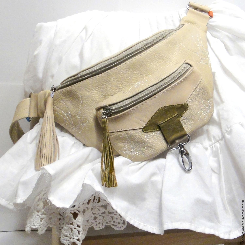 ec95b3ef5695 Поясные сумки ручной работы. Ярмарка Мастеров - ручная работа. Купить  Поясная женская сумка кошелек ...