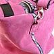 Женские сумки ручной работы. Сумка Unisex Pink. сергей юнусов (sergeyyunusov). Ярмарка Мастеров. Сумка цвета фуксия
