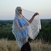 handmade. Livemaster - original item Stole knitted