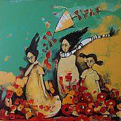 """Картины и панно ручной работы. Ярмарка Мастеров - ручная работа Картина """"Ветер перемен"""". Handmade."""