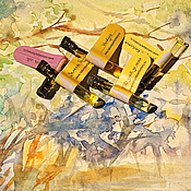 Косметика ручной работы. Ярмарка Мастеров - ручная работа Summertime - набор из 5 пробников натуральных духов. Handmade.