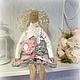 Куклы Тильды ручной работы. Ярмарка Мастеров - ручная работа. Купить Тильда в стиле Бохо шик. Стеша(Стефания). Handmade.