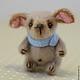 Мишки Тедди ручной работы. собачка Мушка. Сказка рядом. Интернет-магазин Ярмарка Мастеров. Собачка, хлопок
