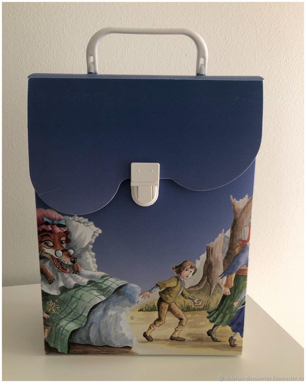 Винтаж:  портфельчик для хранения, Предметы интерьера винтажные, Петрозаводск,  Фото №1