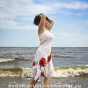 """Одежда ручной работы. Ярмарка Мастеров - ручная работа Платье """"Маковое безумие"""". Handmade."""