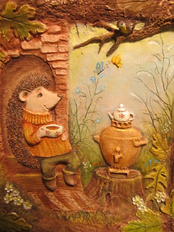 Весеннее   чаепитие, Картины, Днепр,  Фото №1