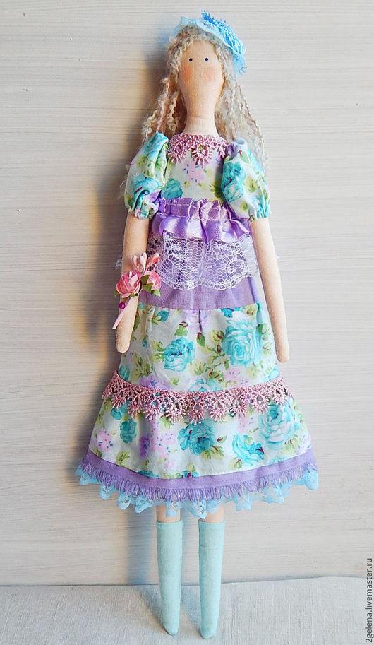 Куклы Тильды ручной работы. Ярмарка Мастеров - ручная работа. Купить кукла Марта. Handmade. Мятный, кукла в подарок