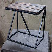 Для дома и интерьера ручной работы. Ярмарка Мастеров - ручная работа Табурет в стиле Лофт (Loft). Handmade.
