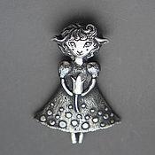 Украшения ручной работы. Ярмарка Мастеров - ручная работа кулон из серебра Люси. Handmade.