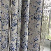 Для дома и интерьера handmade. Livemaster - original item Curtains of linen