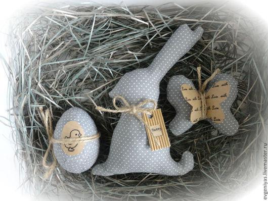 Подарки на Пасху ручной работы. Ярмарка Мастеров - ручная работа. Купить Пасхальный набор №3. Handmade. Серый, пасхальный подарок
