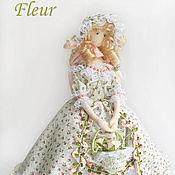 Куклы и игрушки handmade. Livemaster - original item Fler, flower girl. Handmade.