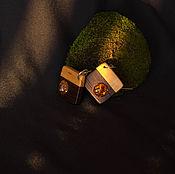 Украшения ручной работы. Ярмарка Мастеров - ручная работа Серьги сделанные вручную  из Венге и Карельской березы. Handmade.