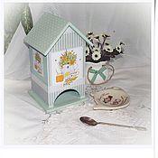 """Для дома и интерьера ручной работы. Ярмарка Мастеров - ручная работа Чайный домик """"Летний чай"""". Handmade."""