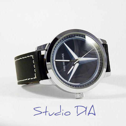 Часы Мерседес 2 (Mercedes). Студия Дизайнерских Часов DIA.