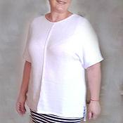 Одежда handmade. Livemaster - original item White summer blouse. Handmade.