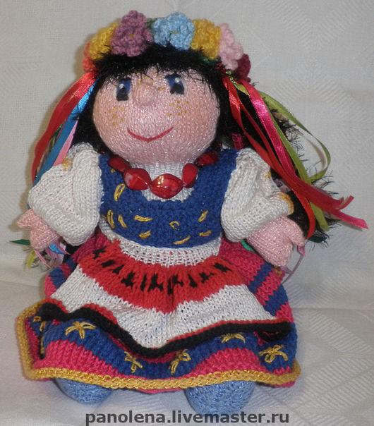 """Человечки ручной работы. Ярмарка Мастеров - ручная работа. Купить Кукла """"Украиночка"""". Handmade. Кукла вязаная, кукла в народном костюме"""