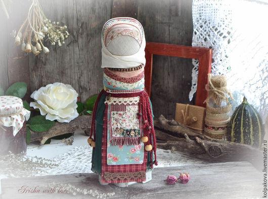 """Народные куклы ручной работы. Ярмарка Мастеров - ручная работа. Купить кукла На удачное замужество """"Цветущая роза"""".. Handmade."""