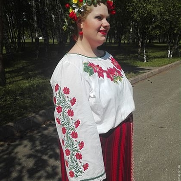 Одежда ручной работы. Ярмарка Мастеров - ручная работа Вышиванка, Концертная рубаха, сценический костюм с вышивкой. Handmade.