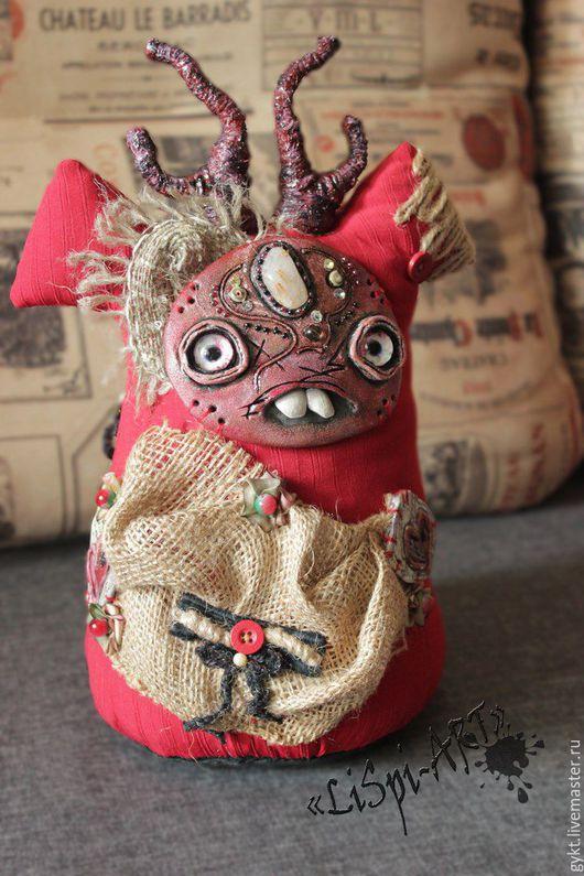 `LiSpI - ART ` коллекционная кукла, кукла ручной работы, кукла,мистическая, кукла интерьерная, кукла в подарок, авторская кукла, кукла талисман, кукла оберег, кукла домовой, Куклы от Tata Gy