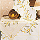 """Текстиль, ковры ручной работы. Ярмарка Мастеров - ручная работа. Купить Дорожка """"Мимоза"""". Handmade. Салфетки, вышивка, авторская работа"""
