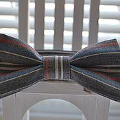 Аксессуары ручной работы. Ярмарка Мастеров - ручная работа галстук-бабочка под джинс. Handmade.