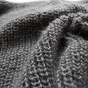 Одежда ручной работы. Ярмарка Мастеров - ручная работа Джемпер  темно-серый. Handmade.