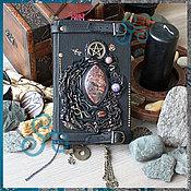 """Фен-шуй и эзотерика ручной работы. Ярмарка Мастеров - ручная работа Книга Теней """"Повелитель Луны"""", книга мага, для заклинаний. Handmade."""