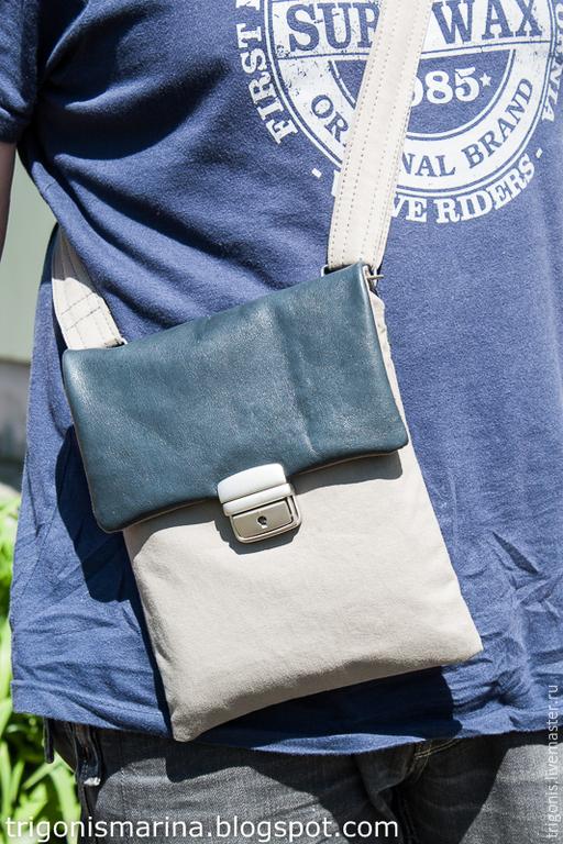 """Мужские сумки ручной работы. Ярмарка Мастеров - ручная работа. Купить Мужская сумка """"Travel"""". Handmade. Сумка мужская, подарок"""