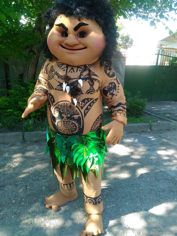 Мауи друг Моаны.Ростовая кукла, Портретная кукла, Симферополь,  Фото №1