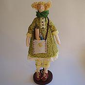 Куклы и игрушки ручной работы. Ярмарка Мастеров - ручная работа Кукла Тильда художница. Handmade.