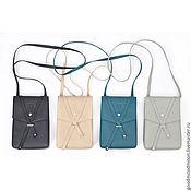 """Сумки и аксессуары handmade. Livemaster - original item Shoulder bag """"Floria"""", crossbody bag. Handmade."""
