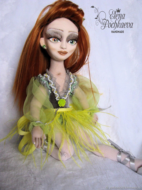 Балерина. Кукла шарнирная, интерьерная. Моя мечта- балет, Шарнирная кукла, Иркутск,  Фото №1