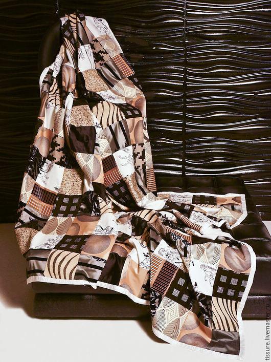 """Текстиль, ковры ручной работы. Ярмарка Мастеров - ручная работа. Купить №10 """" САМУРАЙ"""" Покрывало в технике пэчворк. Handmade."""