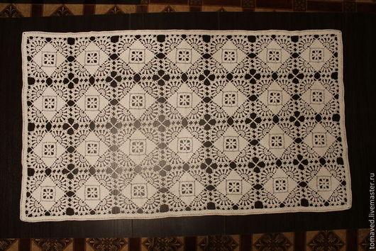 Текстиль, ковры ручной работы. Ярмарка Мастеров - ручная работа. Купить Скатерть. Handmade. Бежевый, скатерть льняная, лён 100%