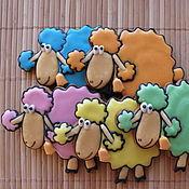 """Сувениры и подарки ручной работы. Ярмарка Мастеров - ручная работа """"Имбирные овечки""""-. Handmade."""
