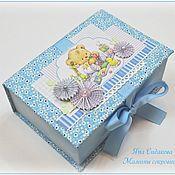 Подарки к праздникам ручной работы. Ярмарка Мастеров - ручная работа Мамины сокровища для мальчика. Handmade.