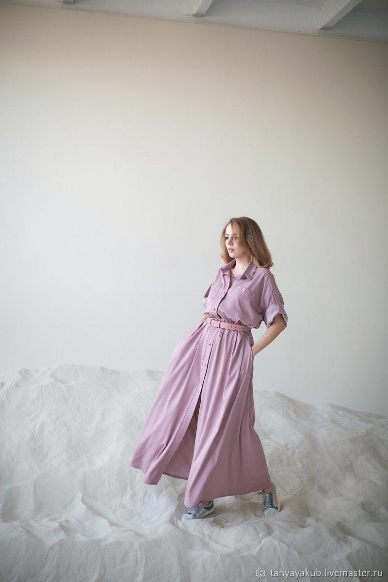 Платье джинсТенселРоза, Платья, Зеленоград,  Фото №1