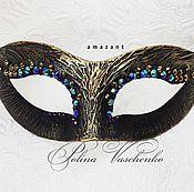 Одежда ручной работы. Ярмарка Мастеров - ручная работа Карнавальная золотая маска. Handmade.